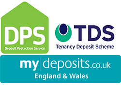 Tenancy Deposit Protection logos links to guidance