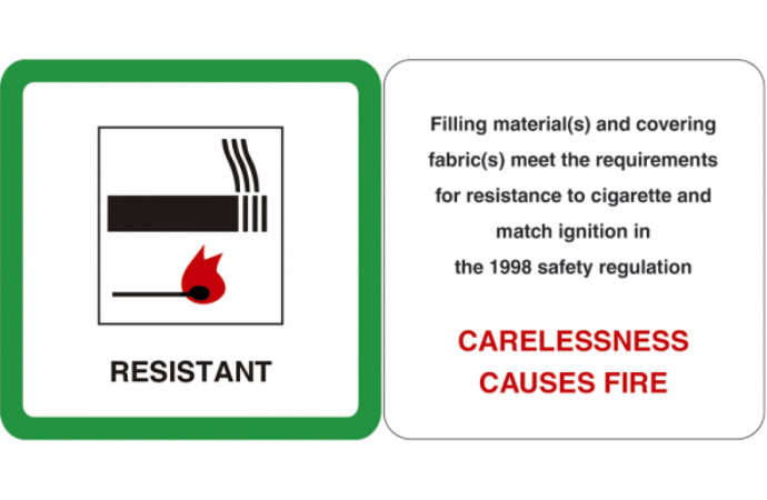 Fire resistance label links to guidance